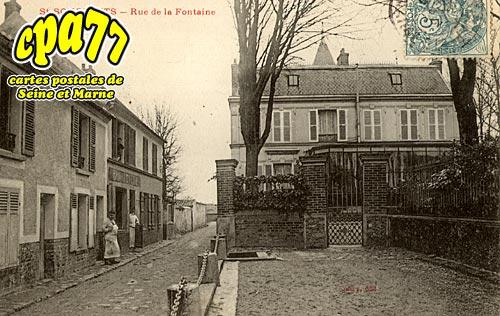 St Soupplets - Rue de la Fontaine