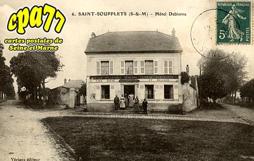 St Soupplets - Hôtel Debierne