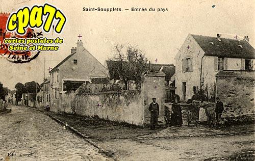 St Soupplets - Entrée du Pays