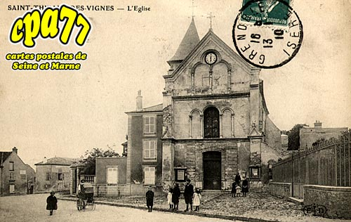 St Thibault Des Vignes - L'Eglise