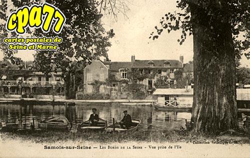 Samois Sur Seine - Les Bords de Seine - Vue prise de l'Ile
