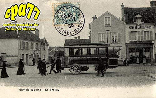 Samois Sur Seine - Le Trolley