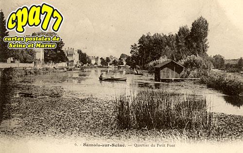 Samois Sur Seine - Quartier du Petit Pont