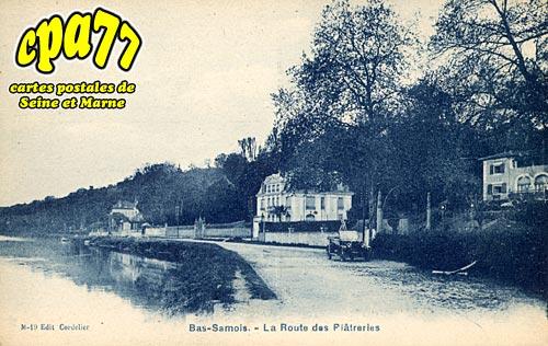 Samois Sur Seine - Bas-Samois - La Route des Plâtreries