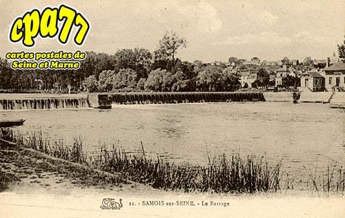 Samois Sur Seine - Le Barrage