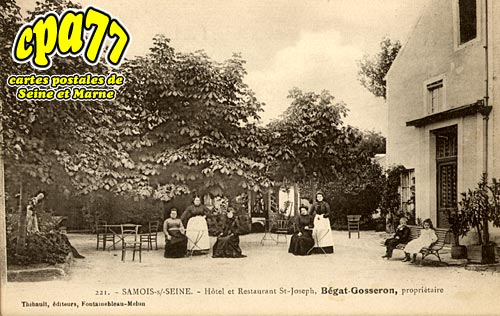 Samois Sur Seine - Hôtel et Restaurant St-Joseph