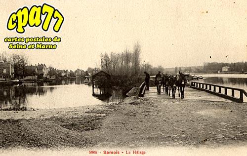 Samois Sur Seine - Le Hâlage