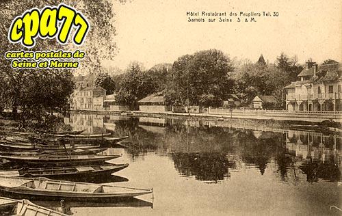 Samois Sur Seine - Hôtel-Restaurant des Peupliers