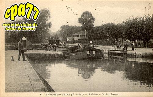 Samois Sur Seine - L'Ecluse - Le Bas-Samois