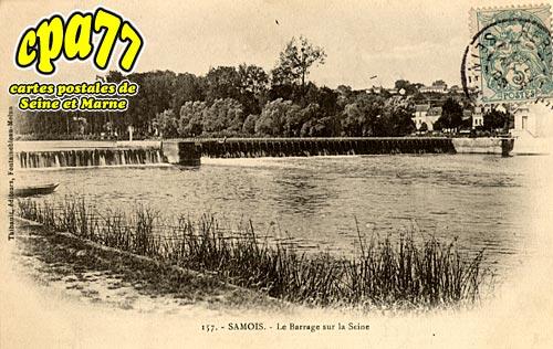 Samois Sur Seine - Le Barrage sur la Seine