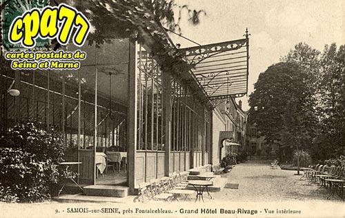 Samois Sur Seine - Grand-Hôtel Beau-Rivage - Vue intérieure