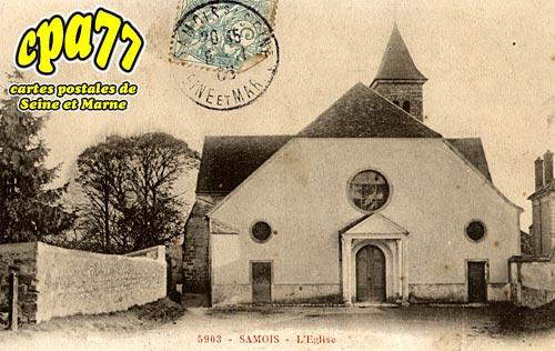 Samois Sur Seine - L'Eglise