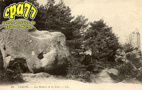 Samois Sur Seine - Les Rochers de la Tour