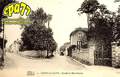 Samois Sur Seine - Entrée du Haut-Samois