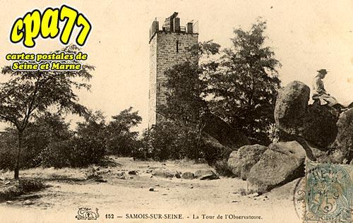 Samois Sur Seine - La Tour de l'Oservatoire