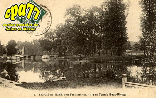 Samois Sur Seine - Ile et Tennis Beau-Rivage