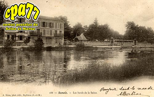Samois Sur Seine - Les Bords de la Seine