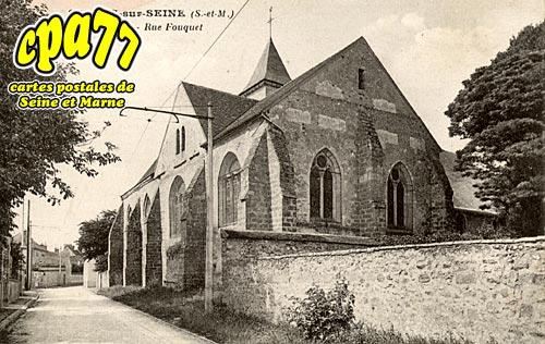 Samois Sur Seine - L'Eglise - Rue Fouquet