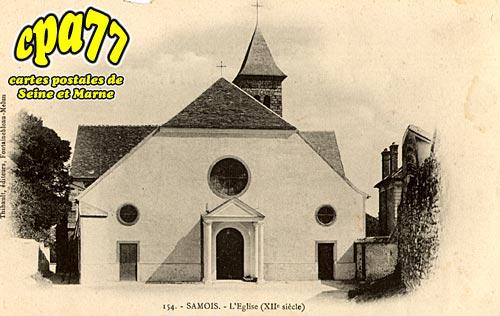 Samois Sur Seine - L'Eglise (XIIe siècle)