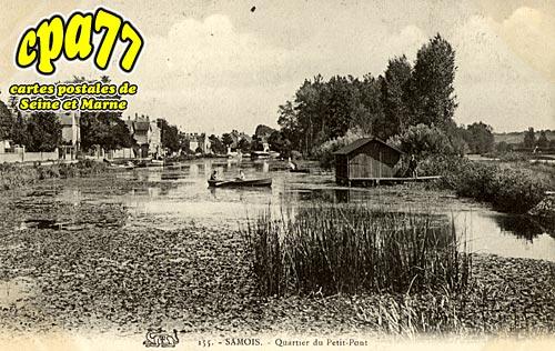 Samois Sur Seine - Quartier du Petit-Pont