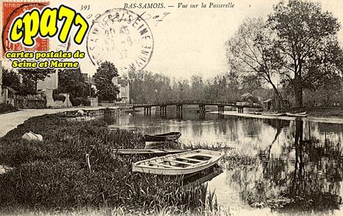 Samois Sur Seine - Vue de la Passerelle