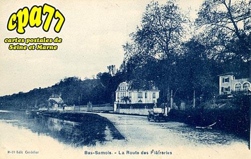 Samois Sur Seine - La Route des Plâtreries