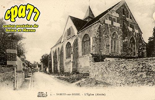 Samois Sur Seine - L'Eglise (Abside)