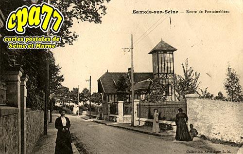 Samois Sur Seine - Route de Fontainebleau