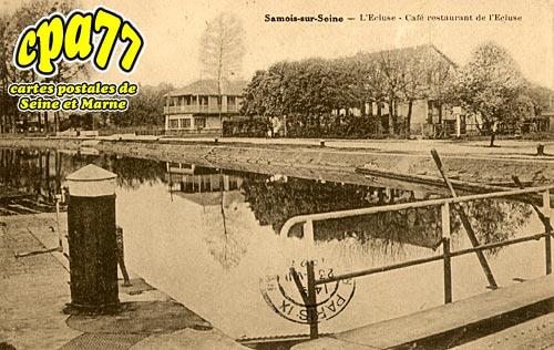 Samois Sur Seine - L'Ecluse - Café restaurant de l'Ecluse