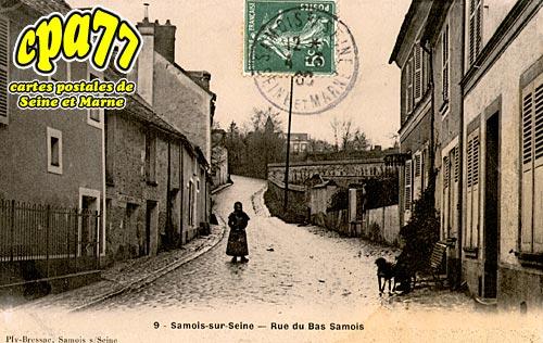 Samois Sur Seine - Rue du Bas-Samois
