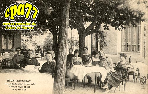Samois Sur Seine - Bégat Gosseron - Hôtel restaurant St-Joseph