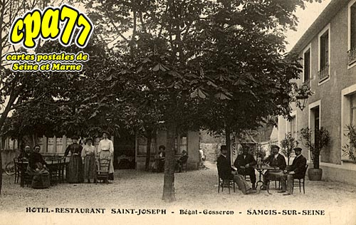 Samois Sur Seine - Hôtel Restaurant Saint-Joseph - Bégat Gosseron