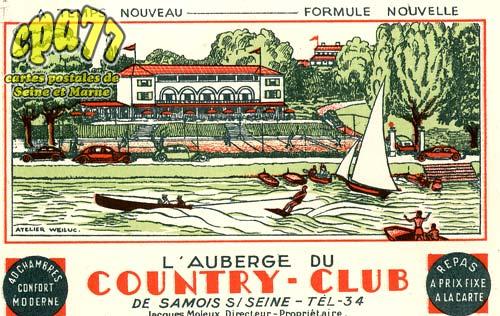 Samois Sur Seine - L'Auberge du Country-Club
