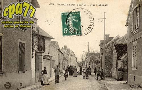 Samois Sur Seine - Rue Nationale