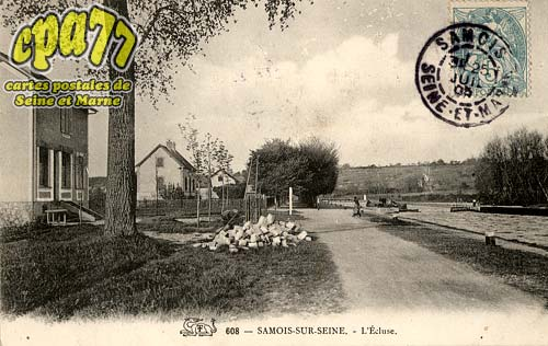 Samois Sur Seine - L'Ecluse