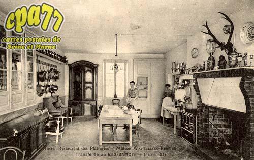 Samois Sur Seine - Ancien Restaurant des Plâteries - Transférée au Bas-Samois