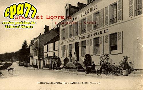 Samois Sur Seine - Restaurant des Plâtreries