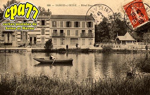 Samois Sur Seine - Hôtel Beau-Rivage
