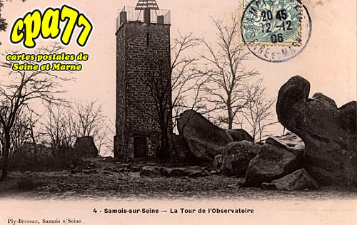 Samois Sur Seine - La Route de l'Observatoire