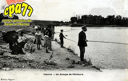 Samoreau - Un groupe de Pêcheurs
