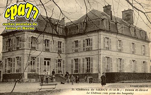 Sancy Lès Meaux - Colonie St-Gérard - Le Château (vue prise des bosquets)