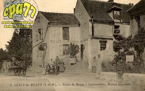 Sancy Lès Meaux - Route de Meaux à Coulommiers - Maison Dépernet