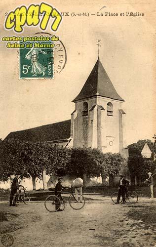 Sancy Lès Meaux - La Place et l'Eglise