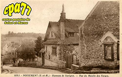 carte postale ancienne de savigny le temple 77 noisement hameau de savigny rue du moulin. Black Bedroom Furniture Sets. Home Design Ideas