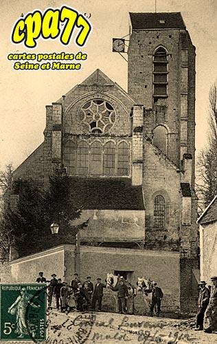 Servon - Eglise et Lavoir