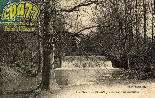 Servon - Barrage du Réveillon