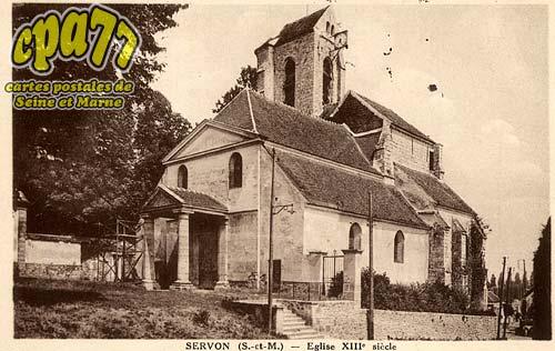 Servon - Eglise XIIIe siècle
