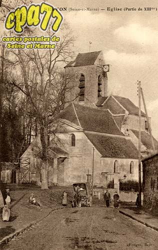 Servon - Eglise (Partie du XIIIme)