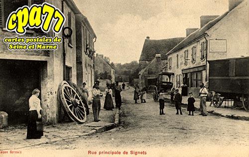 Signy Signets - Rue Principale