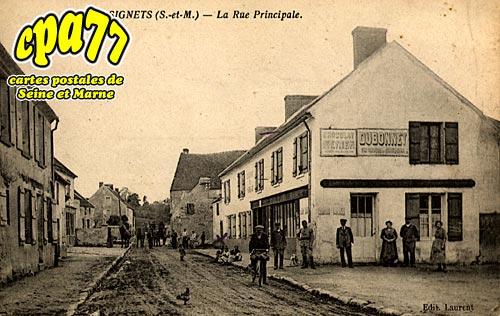 Signy Signets - La Rue Principale